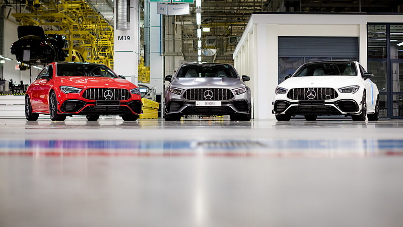 Új AMG-modelleket gyártanak Kecskeméten