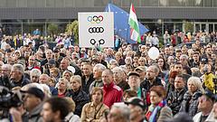 Borkai ellen tüntettek Győrben