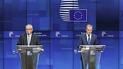 Történelmi hibáról beszélt Juncker