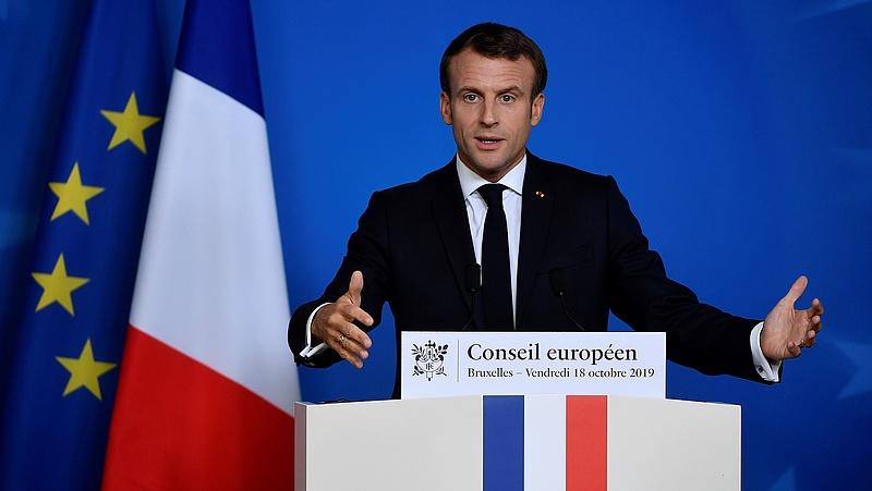 Macron őrültségnek nevezte a szíriai török offenzívát