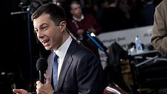 Amerikai elnökválasztás: a kisunoka bemutatott a nagyöregeknek