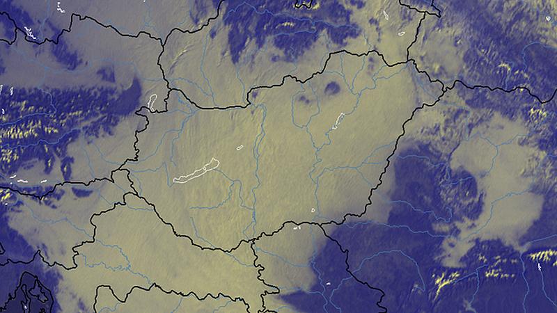 OMSZ: hidegpárna van Magyarország fölött