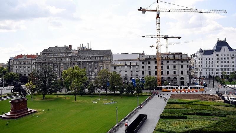 Augusztusban váratlanul visszaesett az építőipar