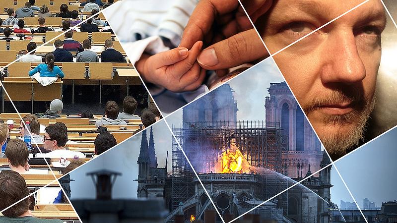 Leégett a székesegyház és Orbán szövetségesét is megállították - ez volt 2019 áprilisában