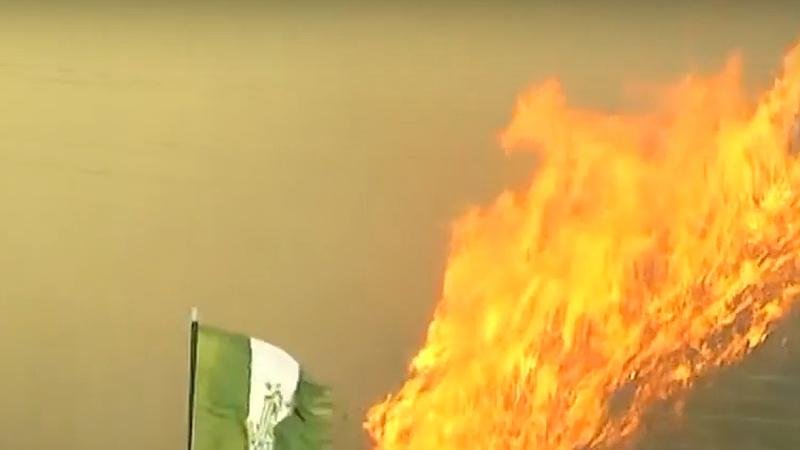 Hatalmas tűzvész van Valparaisóban