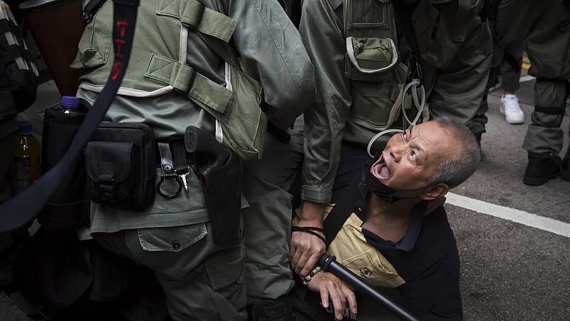Kiújult a feszültség Hongkongban