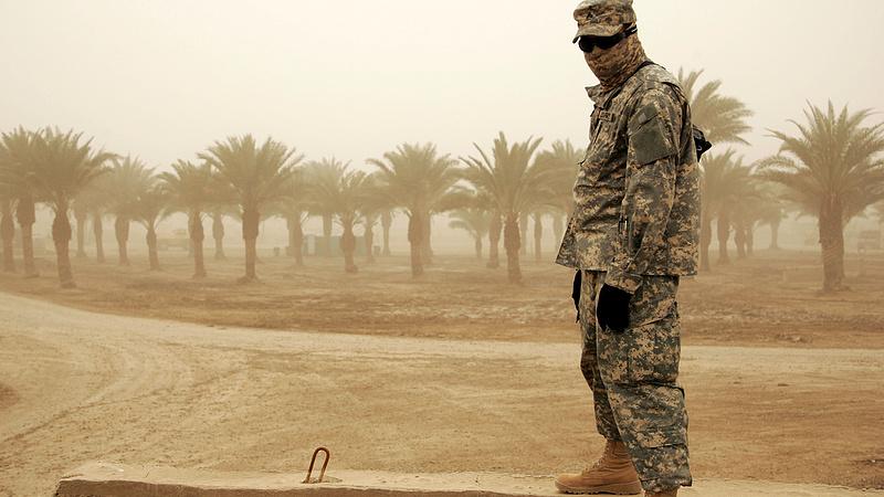 Trump megnyilvánult az iraki kivonulásról