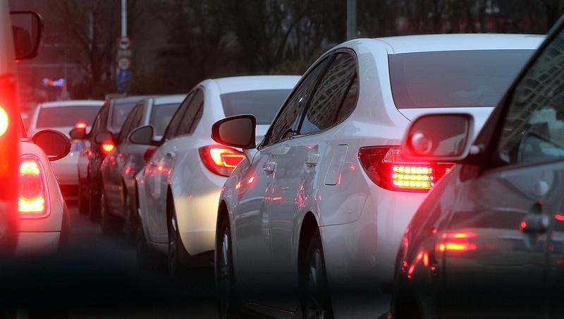 Lezárták az M1-es autópálya Budapest felét vezető oldalát