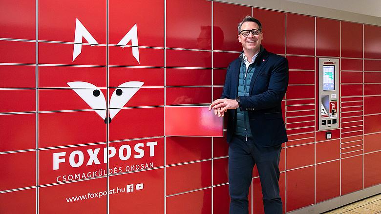 Bengyel Ádám a FOXPOST Zrt vezérigazgatója