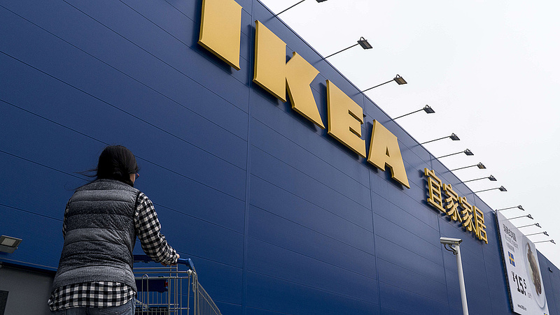 A kínai Ikea lehúzza a rolót a koronavírus-járvány miatt