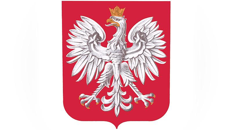 Kifestik a lengyel sas lábát
