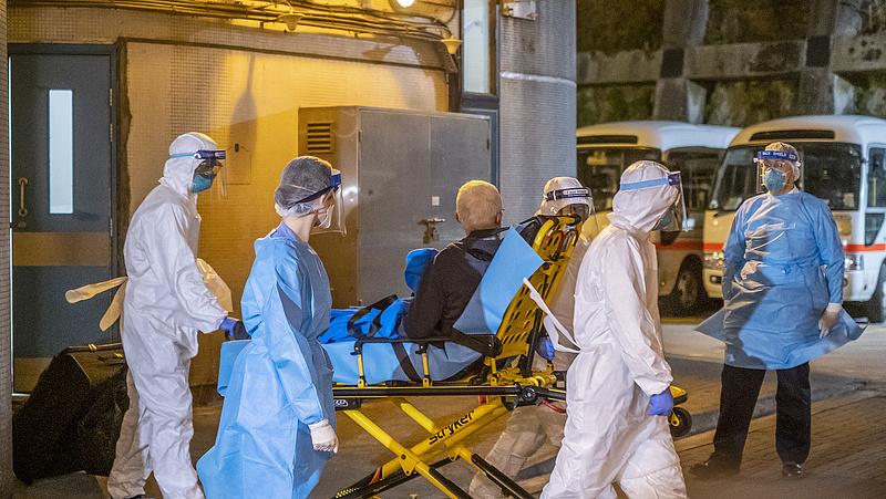 Koronavírus: újabb három halott Olaszországban