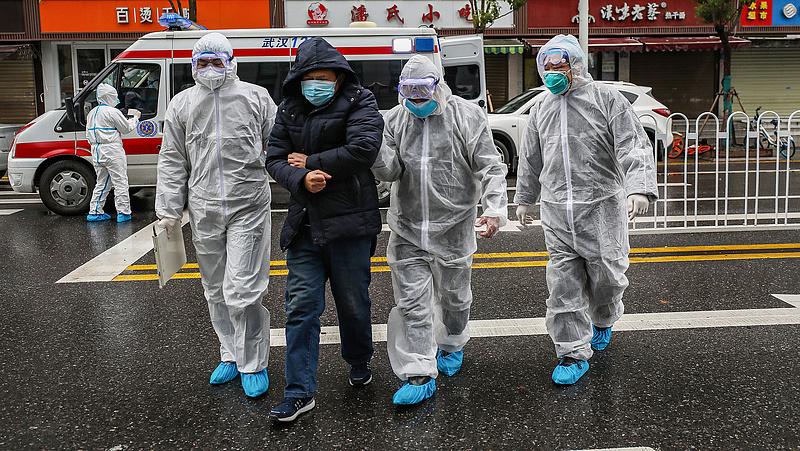Kínában már visszaesőben a koronavírus-járvány