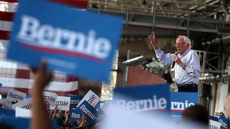 Szuperkedd: Sanders nyert Kaliforniában