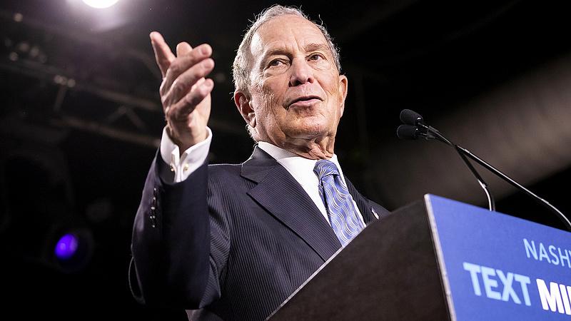 A Twitter kilőtte Michael Bloomberg egyik kampányvideóját - szerintük manipulált volt