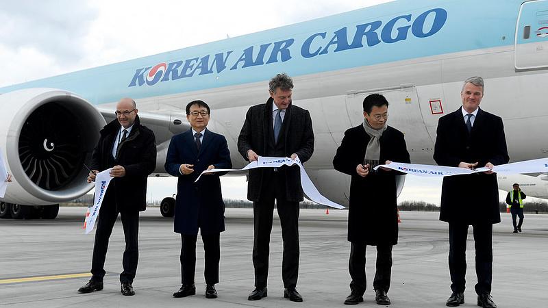Cargo járat indult Budapest és Szöul között