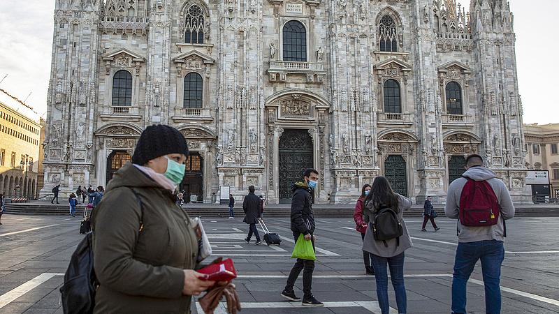 Nagyobb sebességre kapcsolt a járvány Olaszországban, szigorítást fontolgatnak