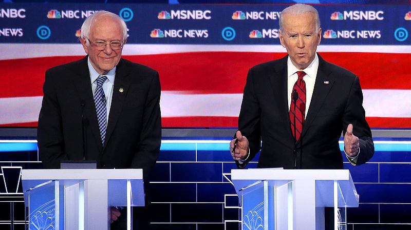 Amerikai előválasztás: Biden bekeményített