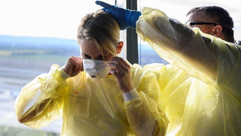 Egészségügyi ellenőrzést vezetnek be Szlovákiában a nemzetközi repülőtereken