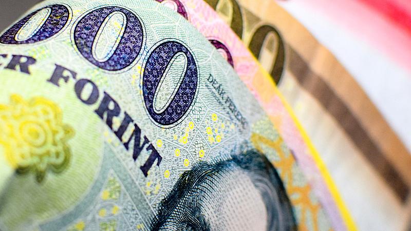 357,5 forintig gyengült az euró
