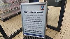 Az Aldi vastag betűs üzenetet küldött a magyar vásárlóknak