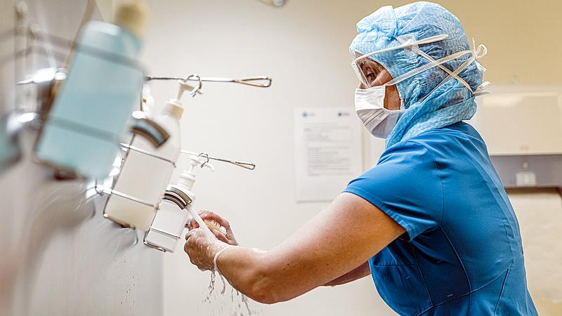 Járvány: megugrott az intenzív ápolásra szorulók száma Németországban