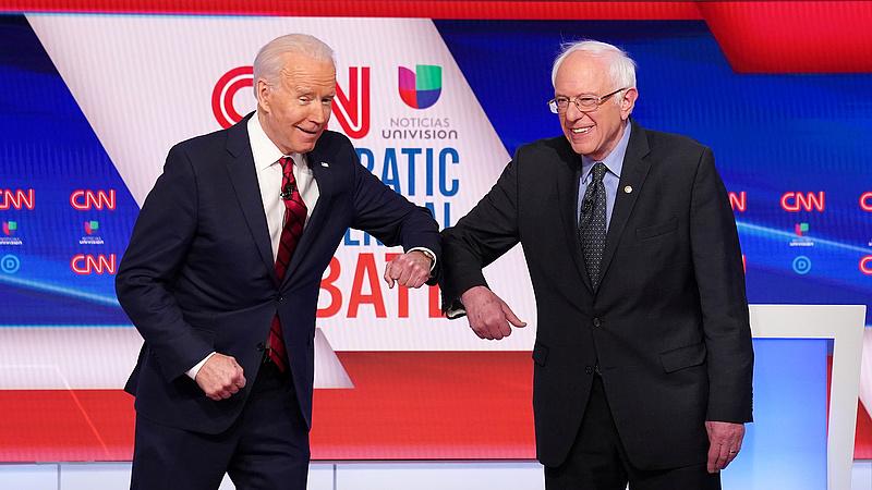 Sanders még nem adja fel, hiába húzott el Biden