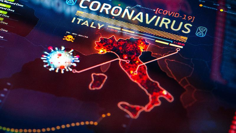 Március óta nem látott mértékben nőtt az olaszoknál a fertőzöttek száma