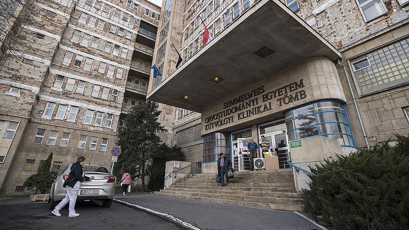 Változtatnak a belépés menetén a Semmelweis Egyetem klinikáján