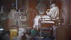 Kéthavi egészségügyi kiadás ment lélegeztetőgépre