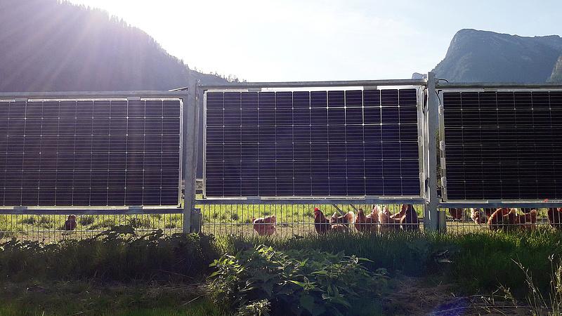 Mindkét oldalán áramot termel az új kerítés