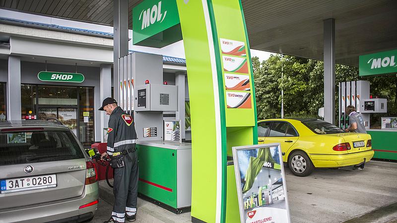 A Mol megmérte a magyar autósokat