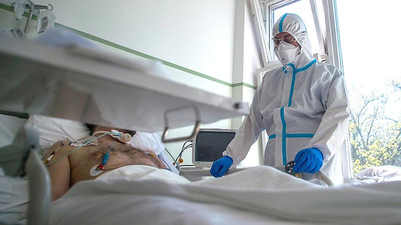 Tegnap 11 magyar beteg halt bele a koronavírus-fertőzésbe