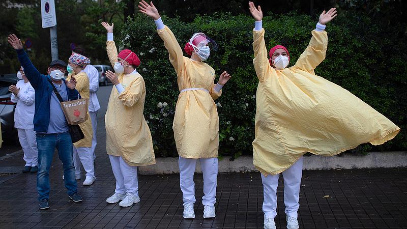 Koronavírus: nagy a lelkesedés Spanyolországban