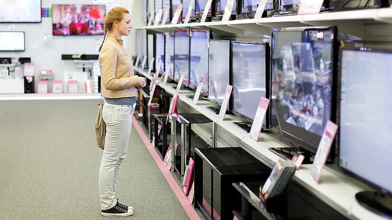 Lerohanják a műszaki áruházakat a vásárlók
