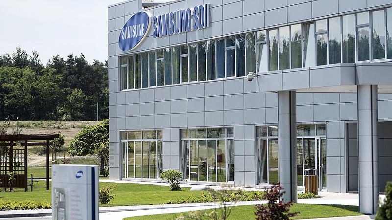 Bővül a gödi Samsung területe