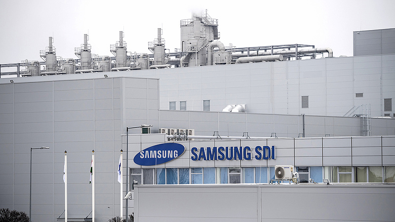 Ömlik az állami pénz a gödi Samsungba