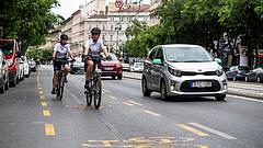 Kiderült, mit gondolnak az emberek a budapesti kerékpársávokról
