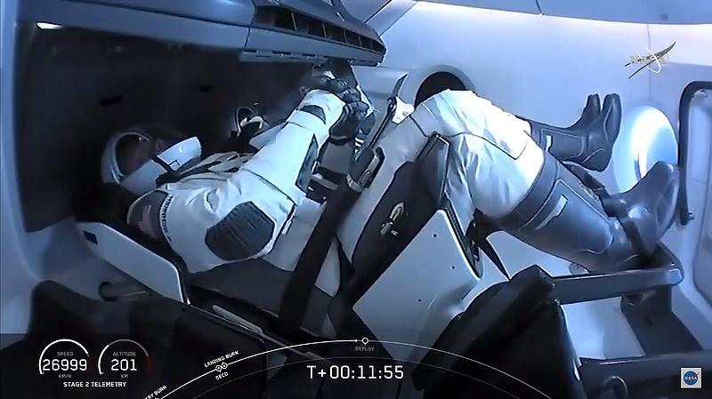 Élőben nézhető a dokkolás az űrállomáson