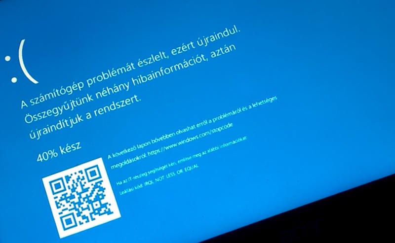 Galibákat okozhat a Windows frissítése