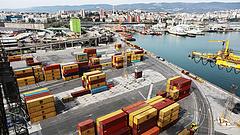 Már átvette az állam az adriai kikötőt