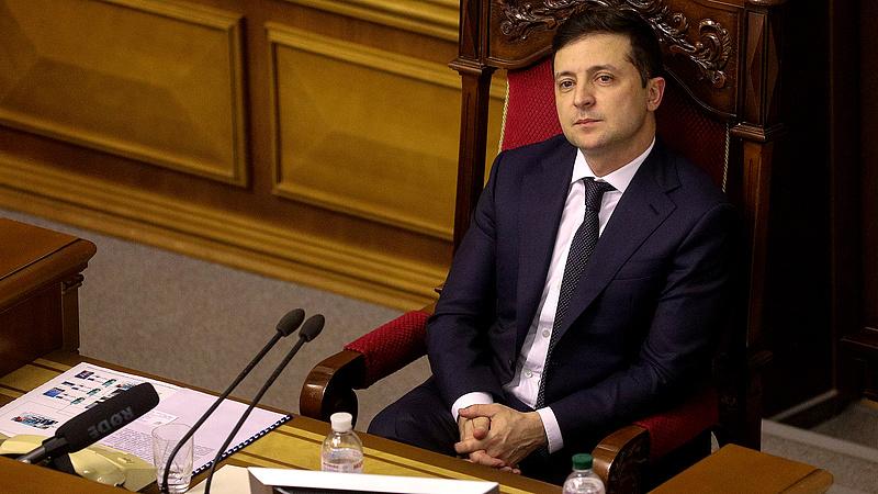 Zelenszkij visszavonta az ukrán alkotmánybíróság elnökének kinevezését