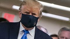 Donald Trump is behódolt a maszkoknak