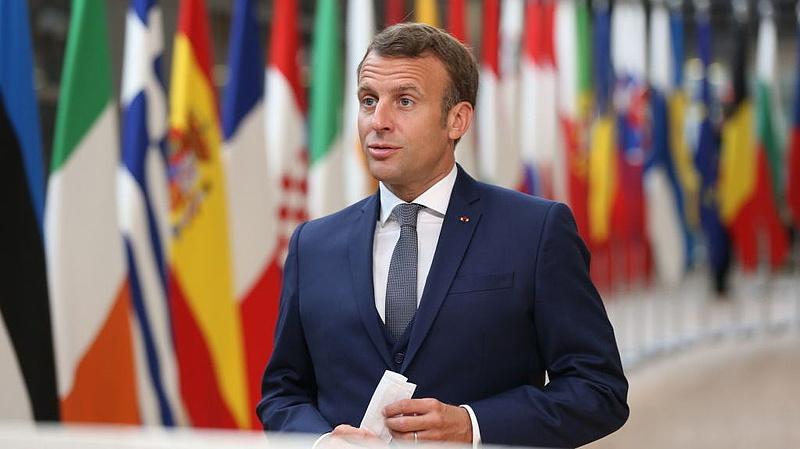 Felgyógyult Emmanuel Macron francia elnök