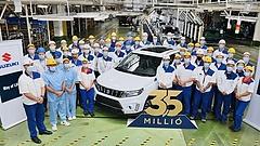 Mérföldkőhöz érkezett az esztergomi Suzuki-gyár