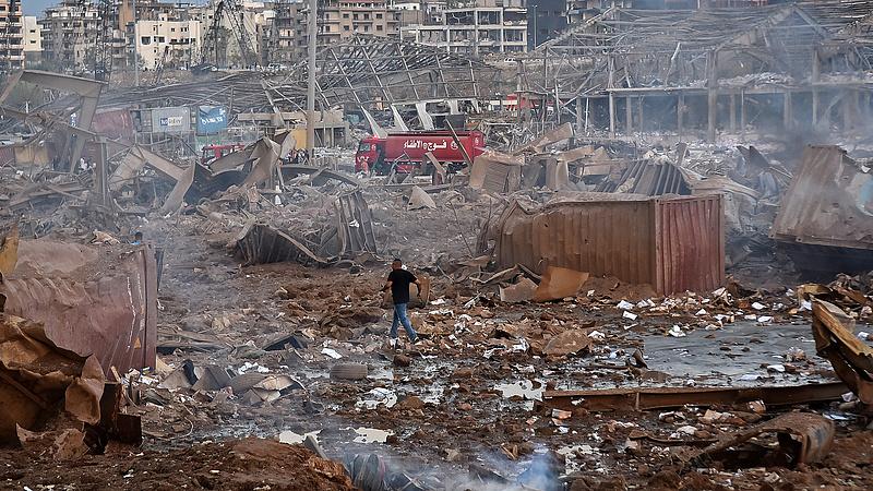 Társadalmi robbanás követheti a bejrúti katasztrófát