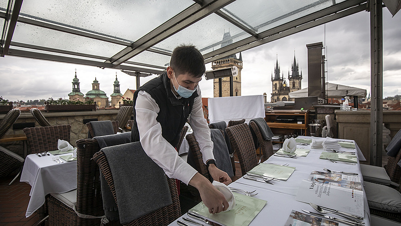 Koronavírus: rosszabb a helyzet Csehországban
