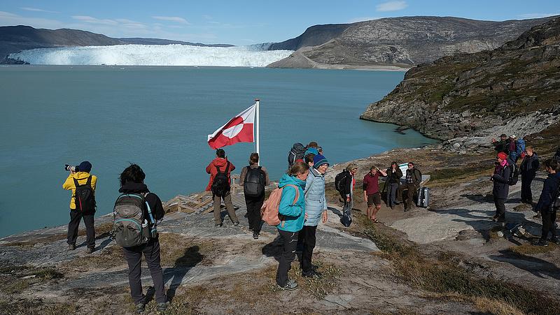 Menthetetlen helyzetben Grönland