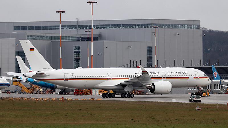 Elkészült a német kormány Airbus 350-ese