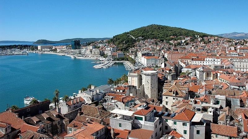 Split fogadta a legtöbb utazót Horvátországban